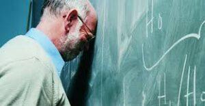 Un 90% de los docentes sienten el sindrome del agotamiento